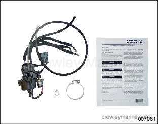 OIL PUMP REPLACEMENT INSTRUCTIONS - Crowley Marine