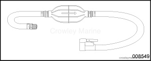 PRIMER BULB AND HOSE KIT - Crowley Marine