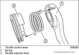 remote control adaptor kit crowley marine Dual Battery System Wiring Diagram insert one end of the shift lever link end into the shift shaft insert the opposite end of the shift lever link into the hole of the clutch lever