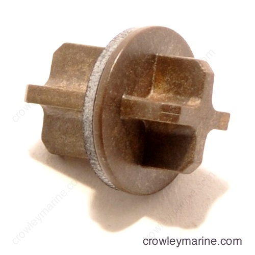 Pressure relief Valve & Washer Assembly-0397958