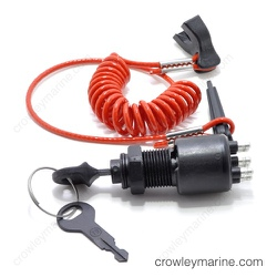 5005801 Ignition Switch with Key and Lanyard - Johnson/Evinrude, OMC |  Crowley MarineCrowley Marine