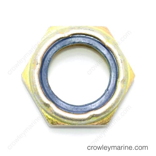Tilt tube Locknut, port & Starboard-0323599