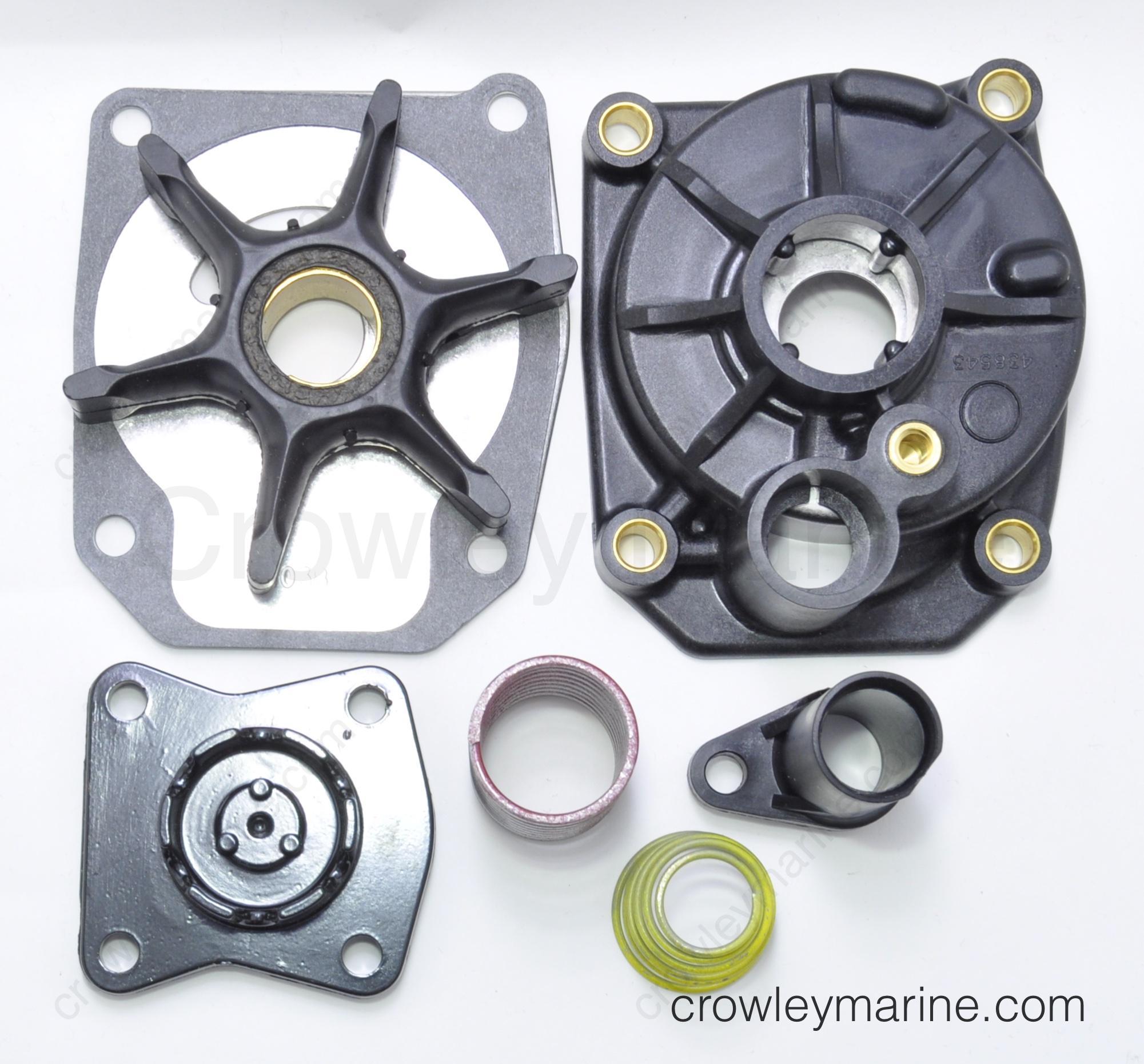 700-255 Johnson 0437059 Evinrude 25-70 Hp Wedge Type Impeller  OEM 0432941