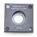 0125312 - BEZEL, Ignition/choke switch