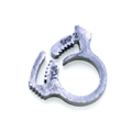 0322653 - Snap Clamp (Min Dia. In.) 0.351 / (Max Dia. In.) 0.394