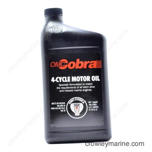 Cobra 174 Four Cycle Quart Johnson Evinrude Omc 0775595
