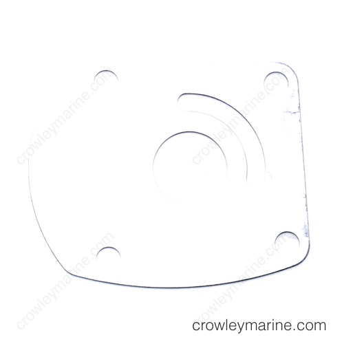 Water Pump Plate, Back-F435562-1