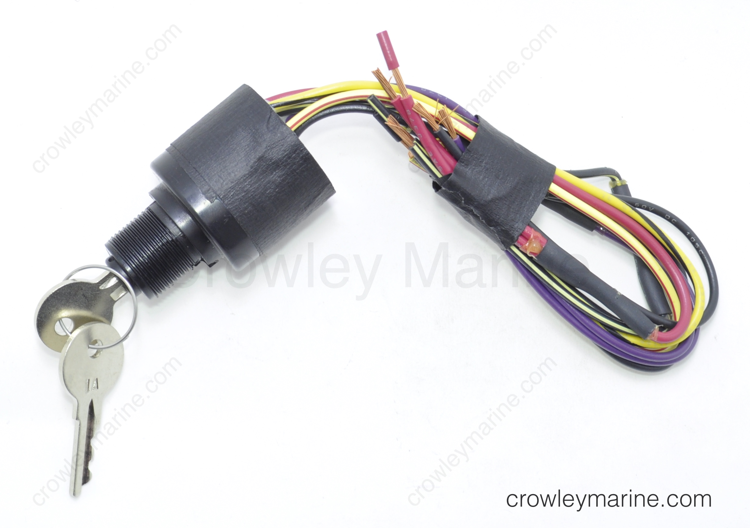 88107a5 Ignition Switch With Key Mercury Marine Crowley Marine