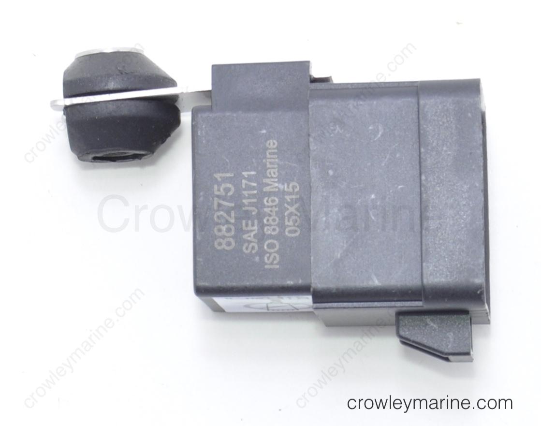 Mercruiser 882751A 1; POWER TRIM Relay Boat Marine Parts Mercury