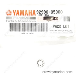 6X0-48193-00 YAMAHA MARINE WASHER