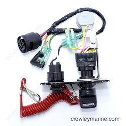 yamaha 704 82570 11 00 top 250 704 82570 11 00 panel, main switch a yamaha marine crowley marine  at fashall.co