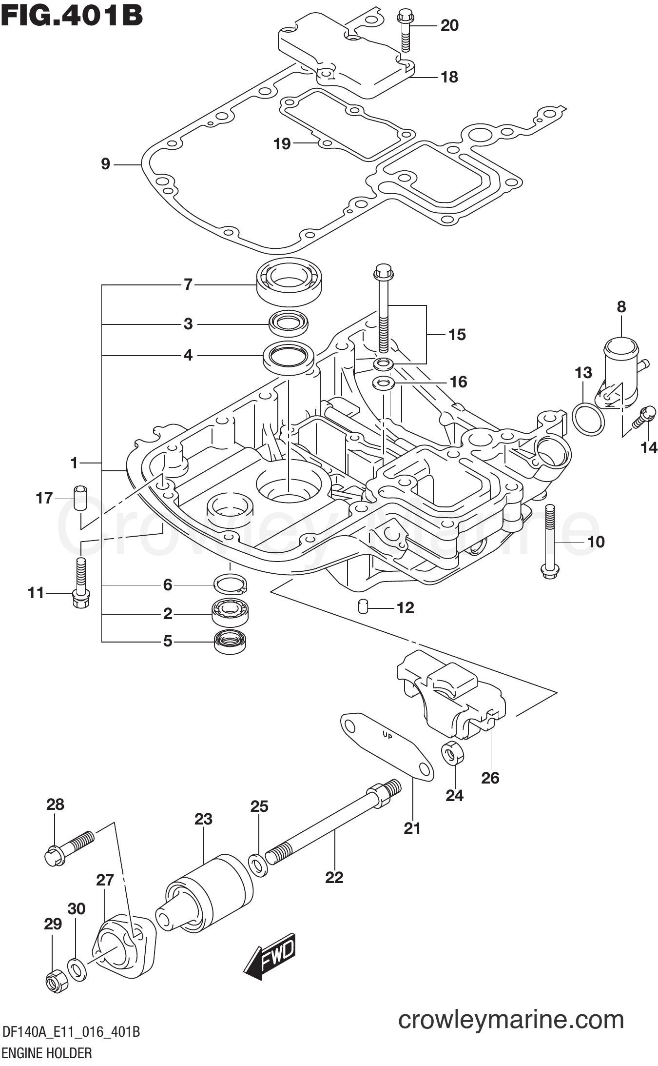 GASKET ENGINE H Suzuki 51211-90J22