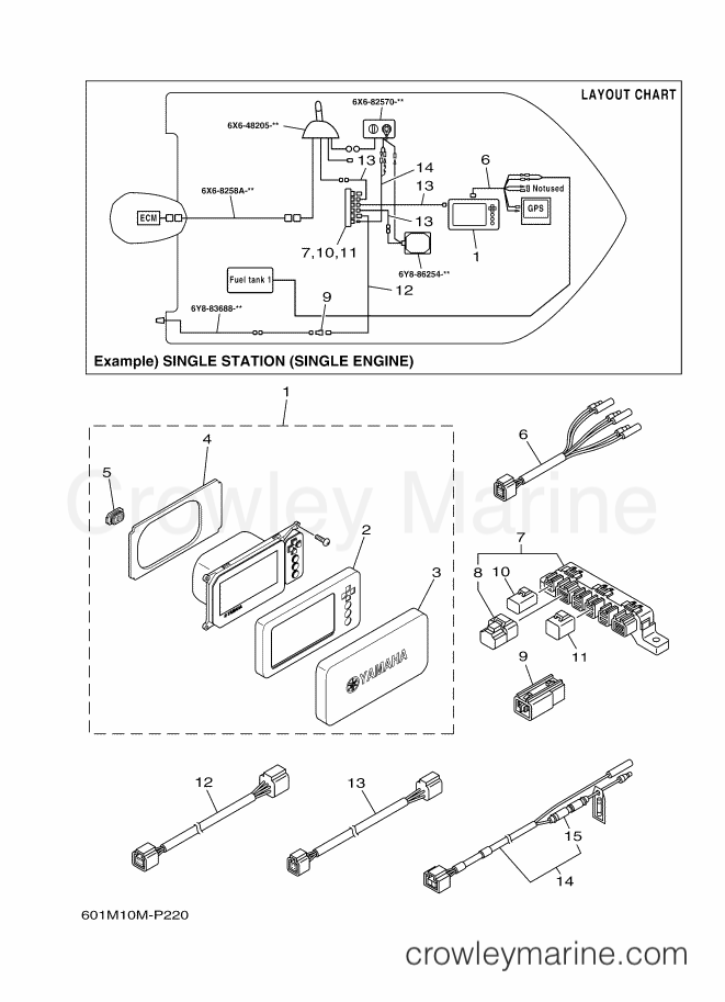 yamaha 6y8 multifunction meter wiring diagram