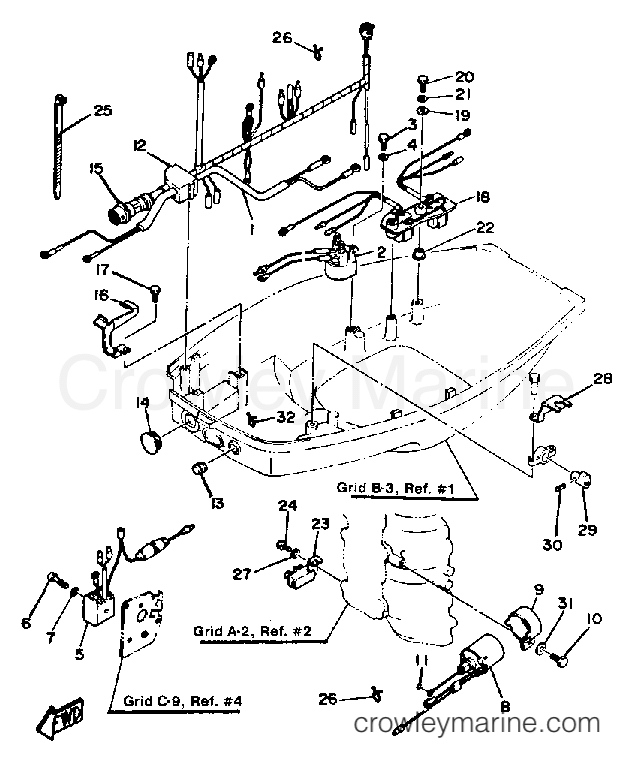 2002 Yamaha Outboard Electrical Diagram