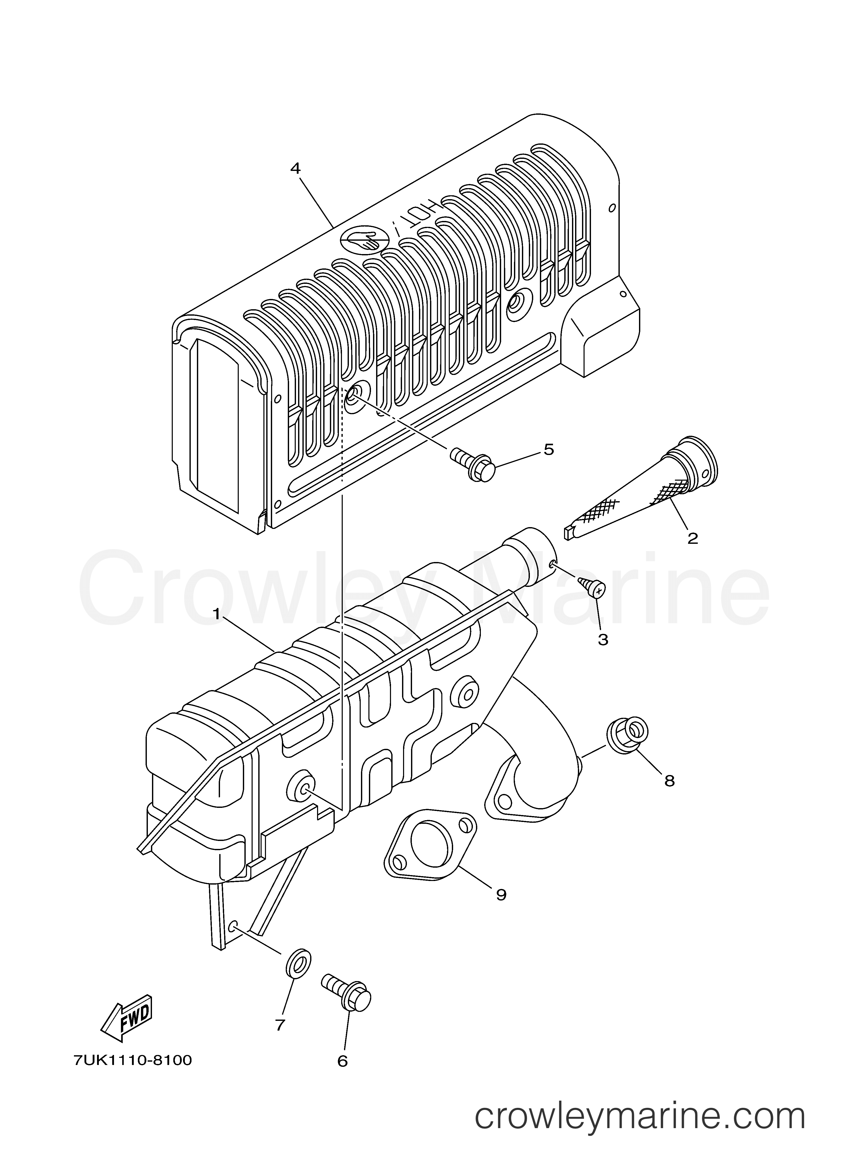 Rotax Exhaust Parts - Wiring Diagram And Engine Diagram