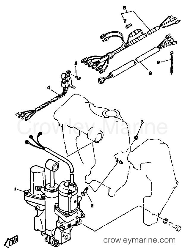 Power Trim Tilt Sender