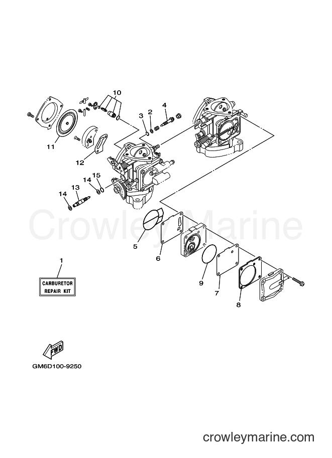 2001 WaveRunner SJ700A-Z - SJ700A-Z (GM6K) [030] - REPAIR KIT 2