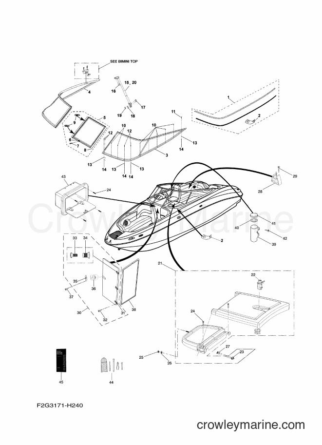 2009 Watercraft FAT1100A-H - FAT1100A-H (F2G3) [020] - HELM