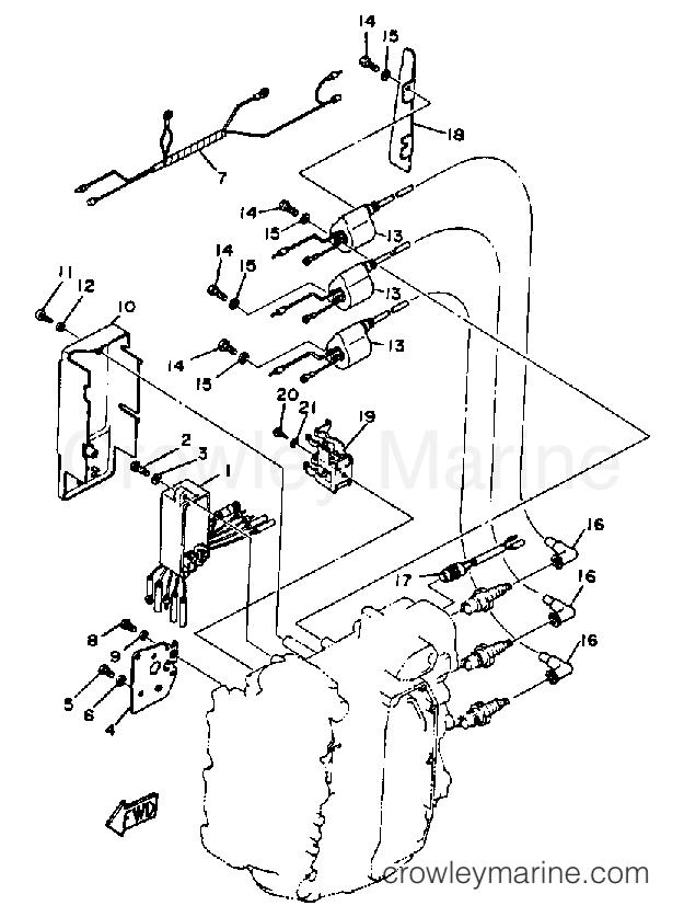 Yamaha 40 Hp Diagram