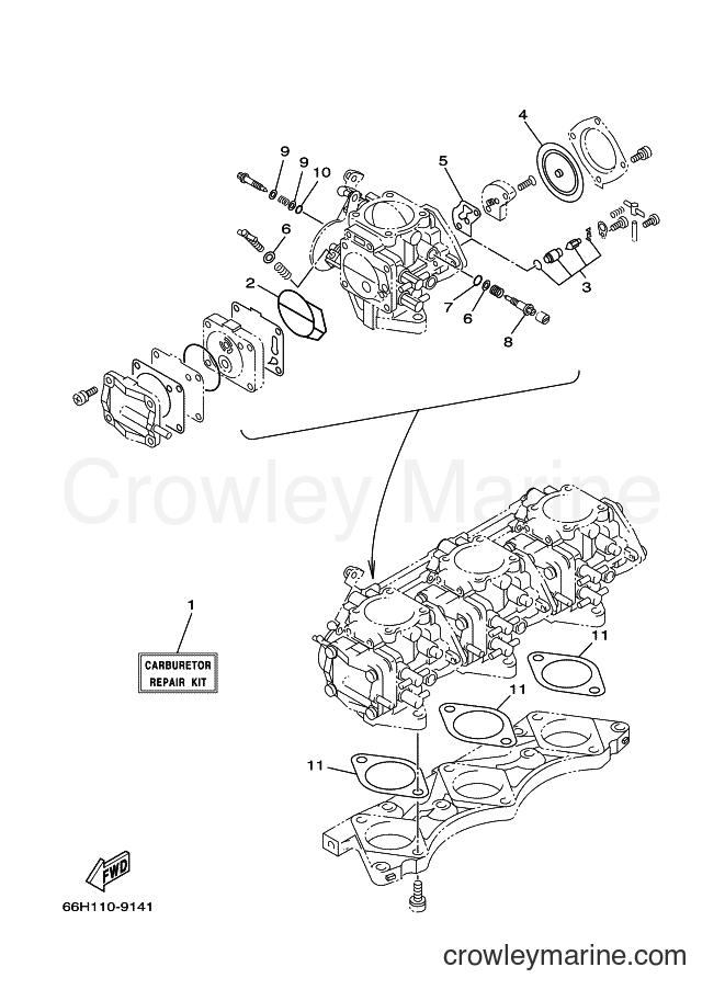 2001 WaveRunner SV1200Z - SV1200Z (GU53) [020] - REPAIR KIT 2