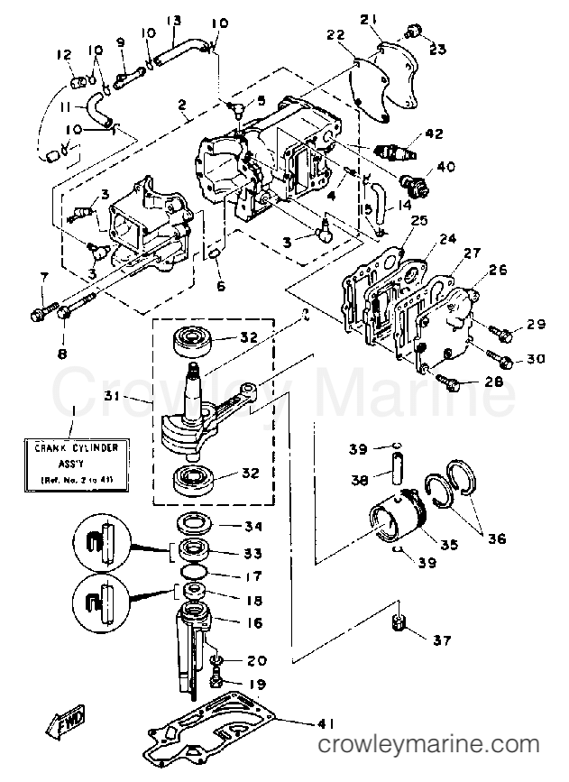 Yamaha 4hp Outboard Parts Diagram