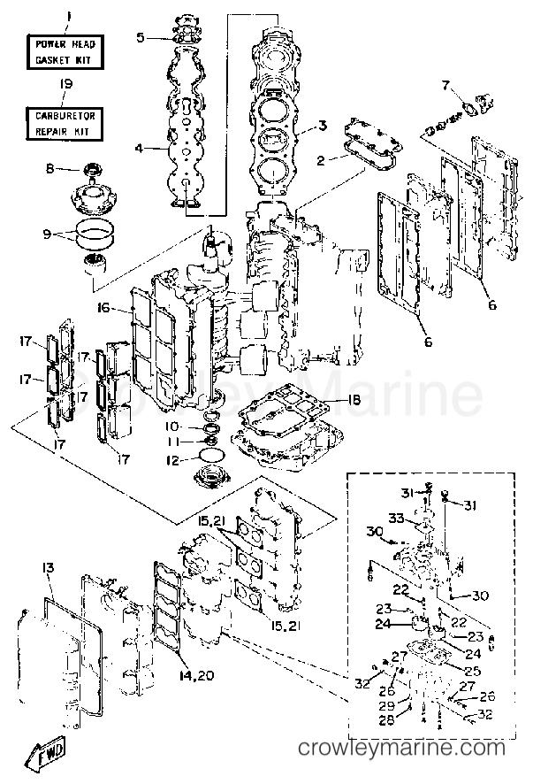 200 Hp Mercury Outboard Engine Diagram