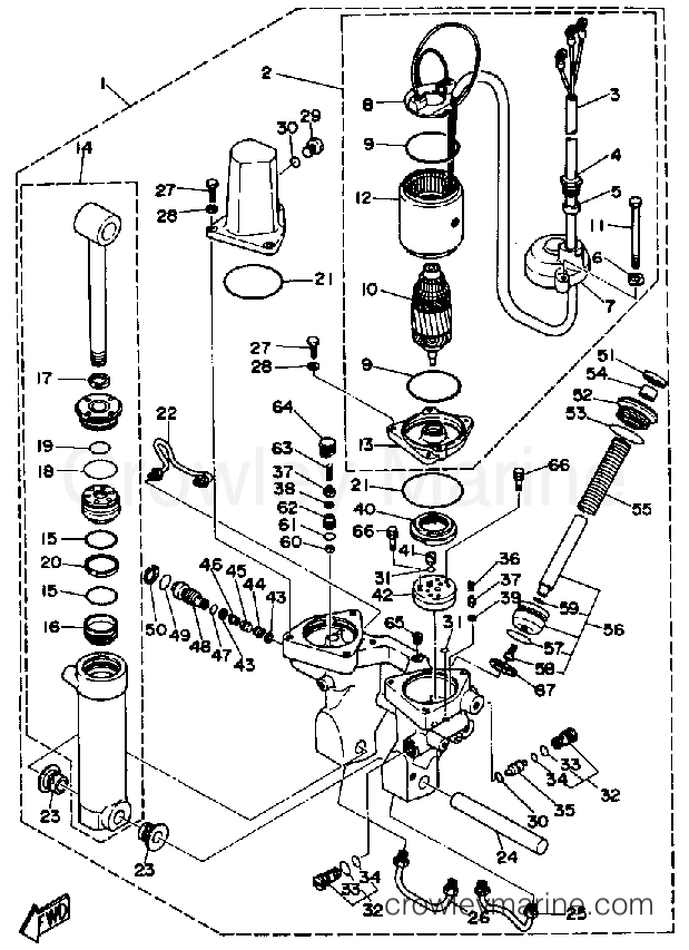 P5S6mp5U Yamaha Marine Outboard Wiring Diagram on for 6hp, tilt trim gauge, for tachometer, f25tlry, parts meters speed,