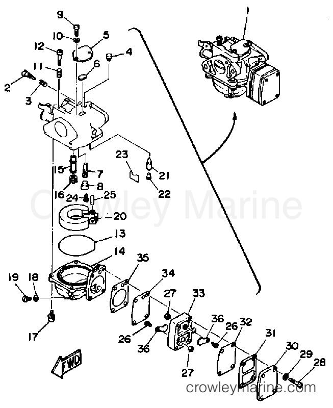 1986 yamaha outboard motor