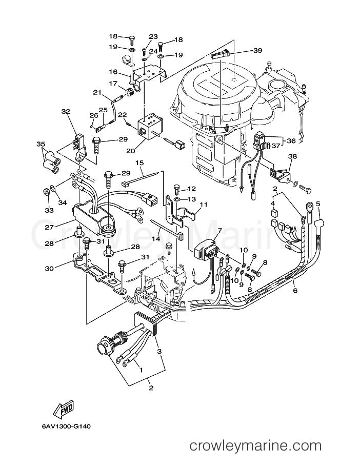 2009 Yamaha International 9.9hp - FT9.9GEHPX (6AV2) [120] - ELECTRICAL 3 section