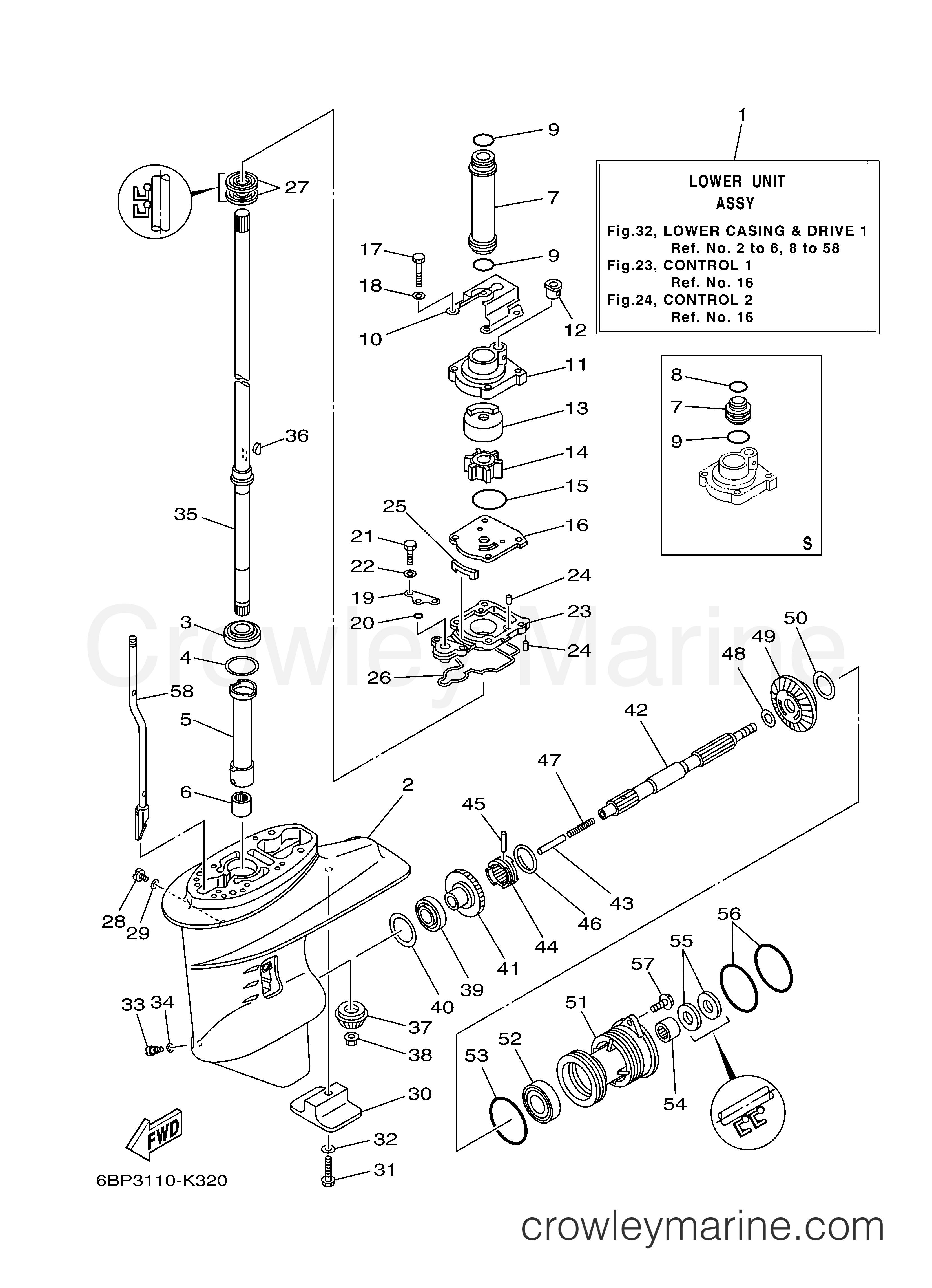 25 hp mercury lower unit parts diagram  u2022 wiring diagram