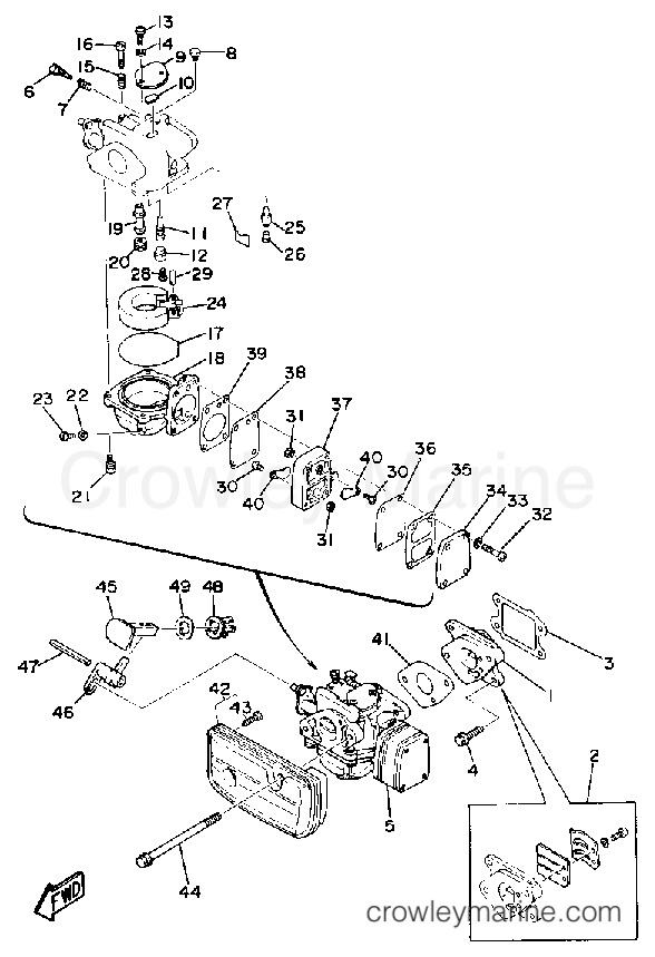 3 Hp Yamaha Diagram