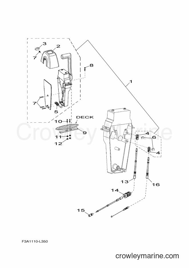 2017 WaveRunner SH1800B-S - SH1800B-S (F3M5) [020] - CONTROL CABLE