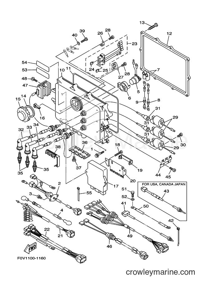 2001 WaveRunner XA1200A-Z - XA1200A-Z (F0V1) [030] - ELECTRICAL 1