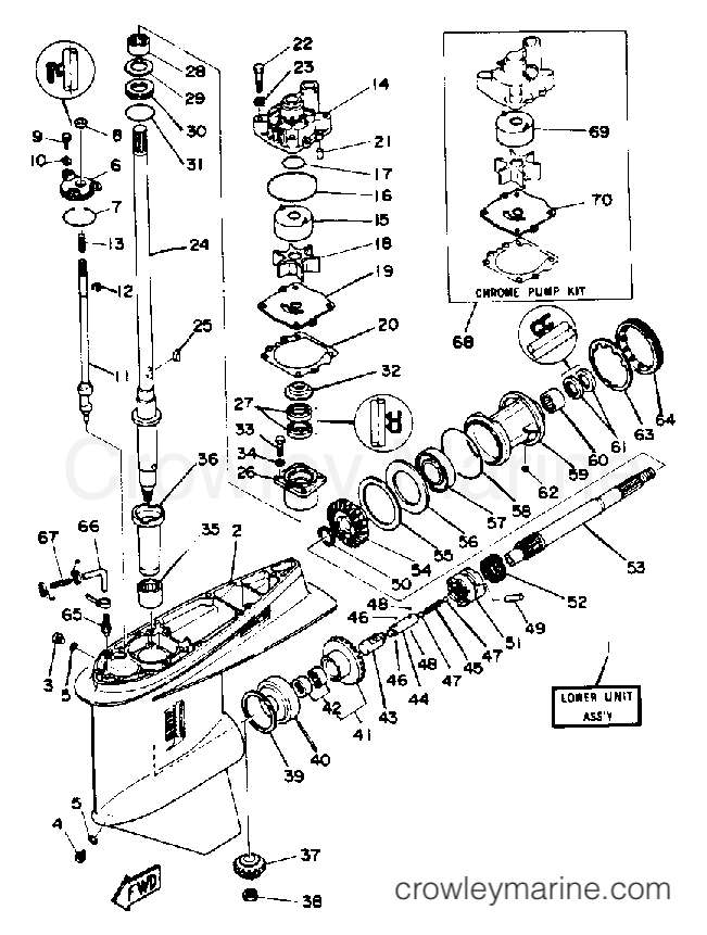 lower drive 1