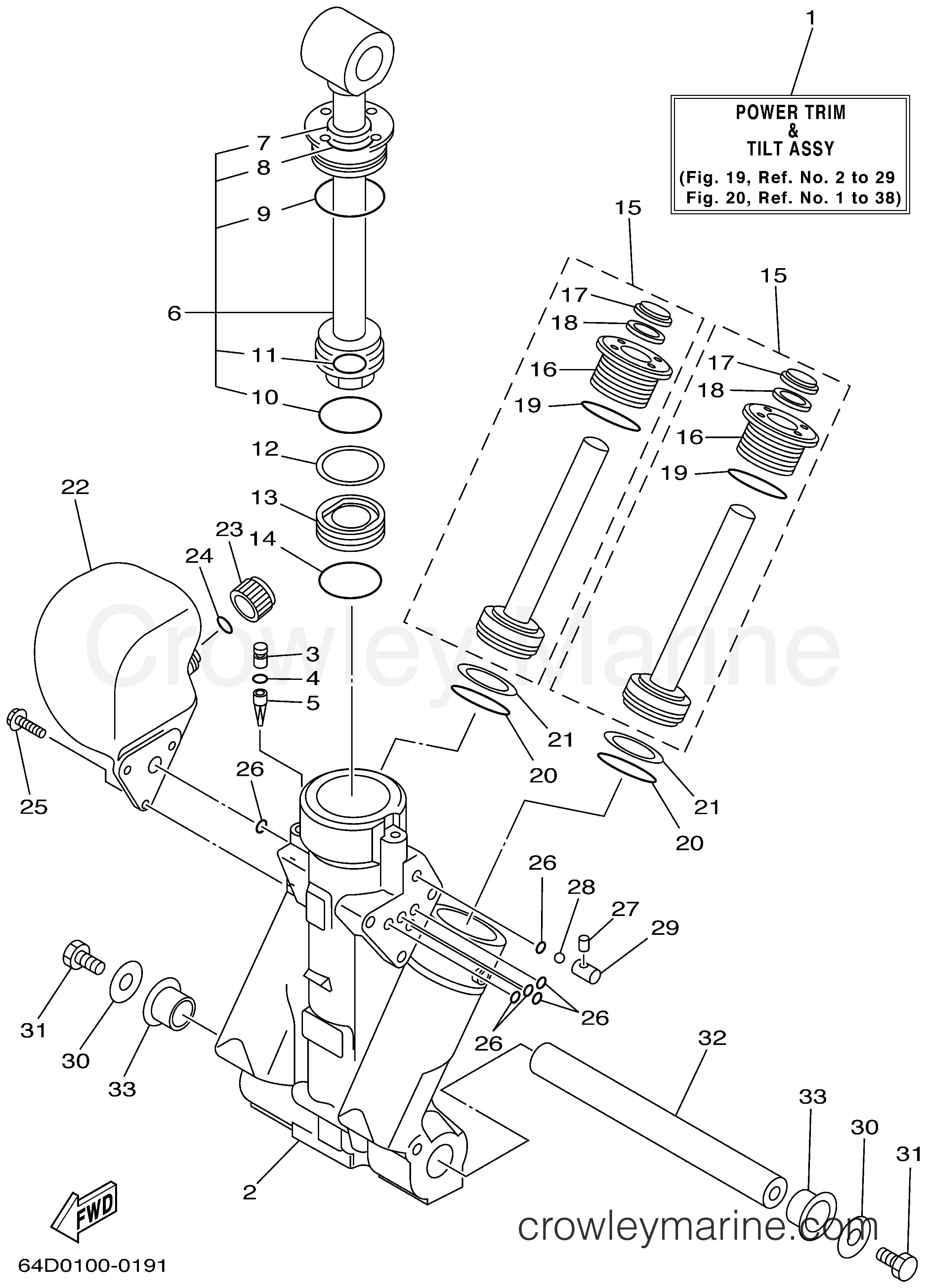 Yamaha Outboard Trim Diagram - Wiring Diagram