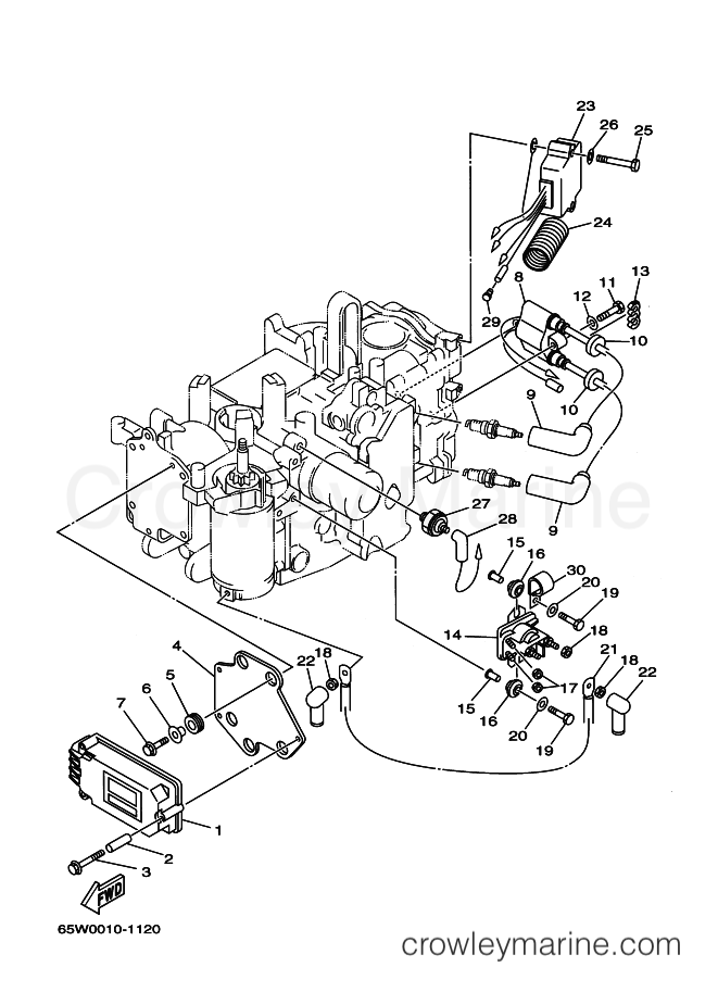 Yamaha Ignition Relay