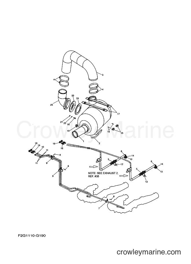 2009 Watercraft FAT1100A-H - FAT1100A-H (F2G3) [020] - EXHAUST 3