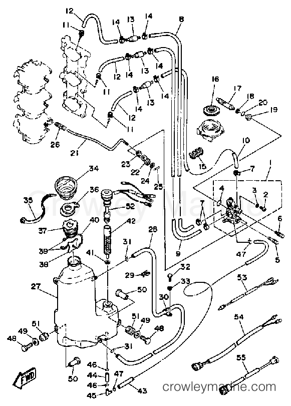 Yamaha Outboard Wiring Diagram For 1989