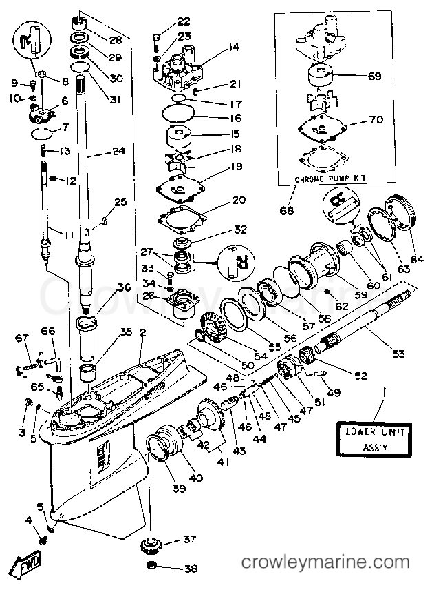 Diagram Of 1987 225hexcel