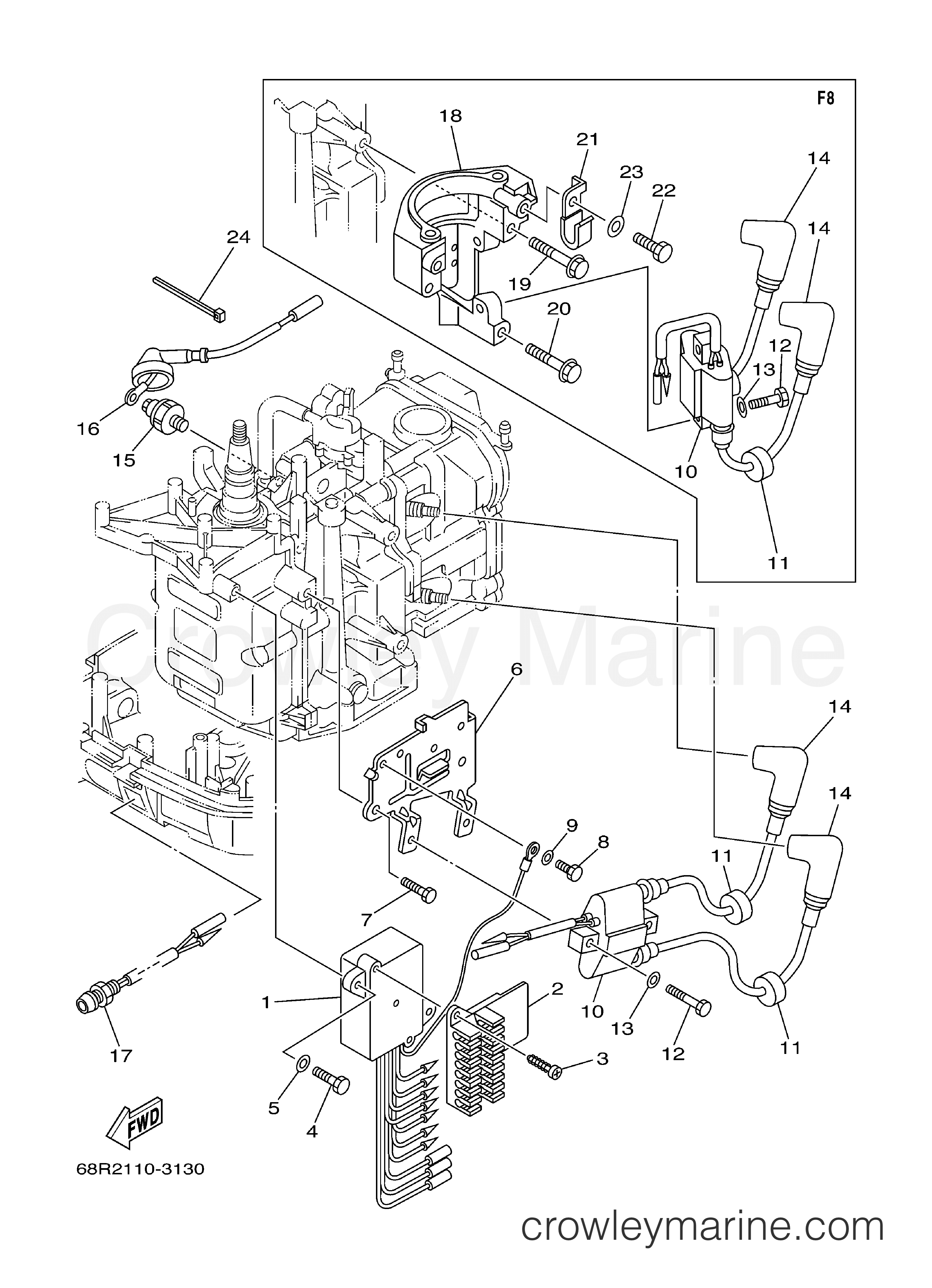 Yamaha Ignition Coil Wiring Diagram