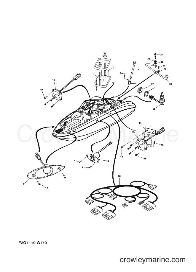 2009 Watercraft FAT1100A-H - FAT1100A-H (F2G3) [020] - ELECTRICAL 3