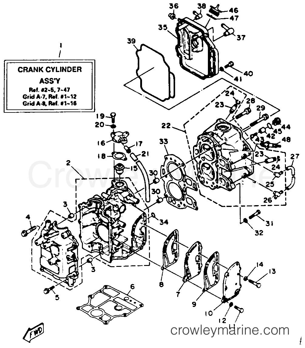 cylinder crankcase