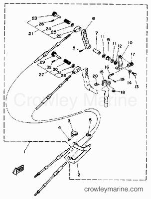 Johnson Evinrude Starter Circuit Wiring Diagram