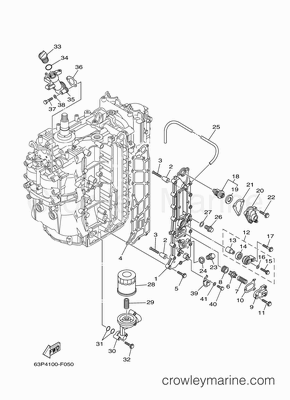 3 0 Mercruiser Starter Wiring Diagram together with Dry Sump Engine Diagram additionally Yamaha Tachometer Wiring Diagram besides Mercruiser 5 0 Wiring Diagram further Cummins 6bta Specifications. on marine boat wiring