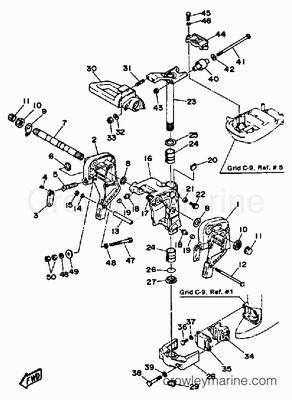 15 Hp Johnson Outboard Motor