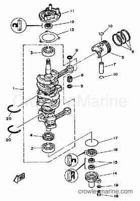 70 Hp Evinrude Motor Parts Diagram