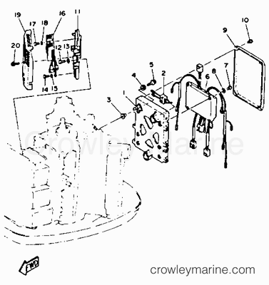 74 Hp Johnson Outboard Diagram likewise Sw Tachometer Wiring Diagram furthermore Hydraulic Tilt Steering moreover 6 Hp Evinrude Fuel Pump also Mercruiser Alpha One Lower Unit Diagram. on yamaha outboard schematics wiring diagrams