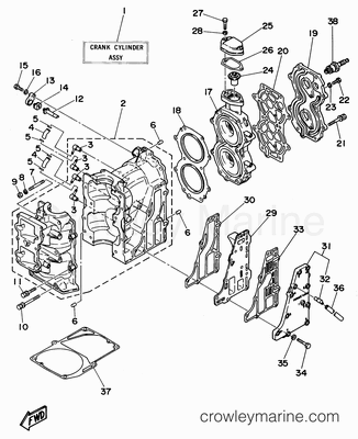 70 hp johnson carburetor diagram