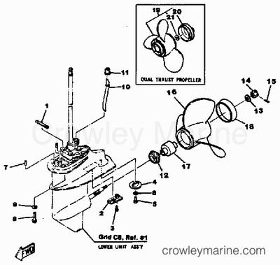 1989 70 Hp Evinrude Wiring Diagram