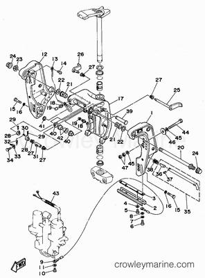 1995       Yamaha    Outboard 75hp  C75TLRT   Parts Lookup